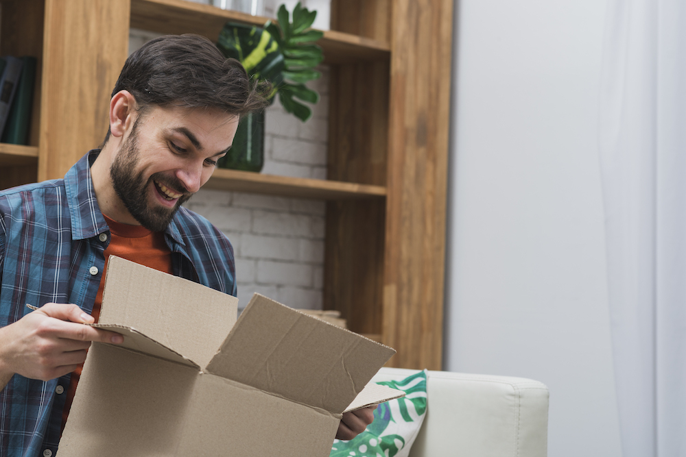 Le packaging selon Amazon : un unboxing simple et agréable