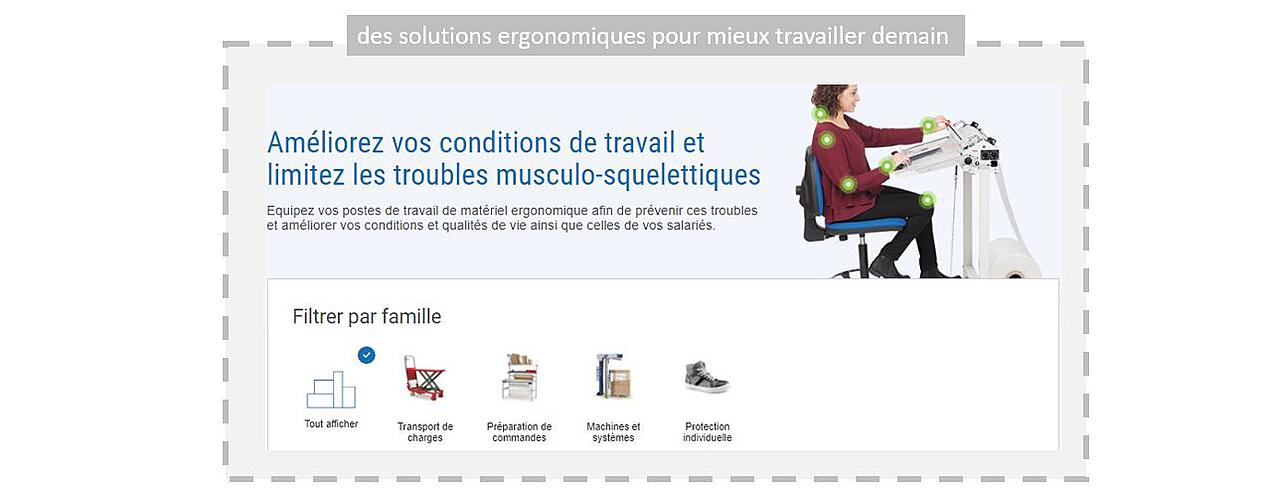 Prevention des TMS en entrepot : les solutions RAJA